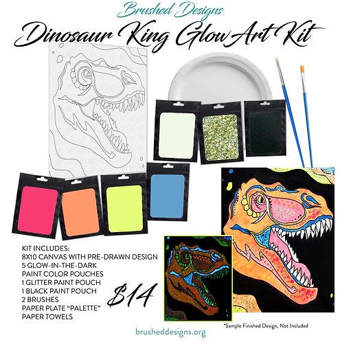 Dinosaur King Glow Art Kit