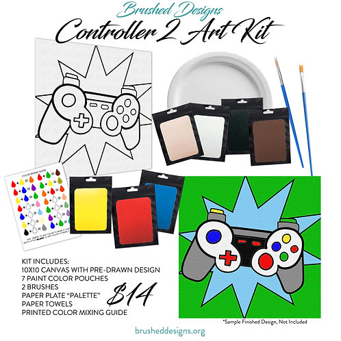 Controller 2 Art Kit