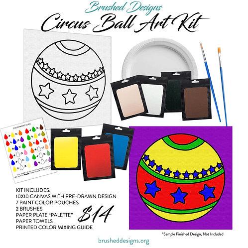 Circus Ball Art Kit