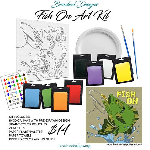 Fish On Art Kit
