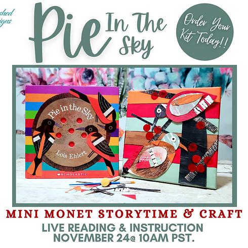 Mini Monet Storytime & Craft