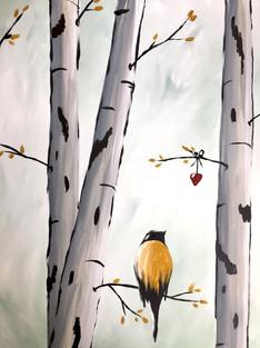Bird on Birch