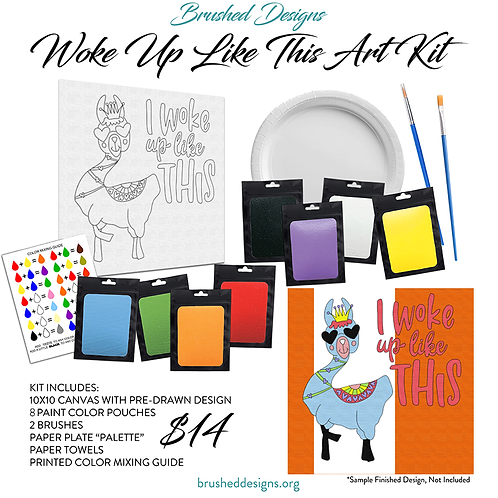 Woke Up Like This Art Kit