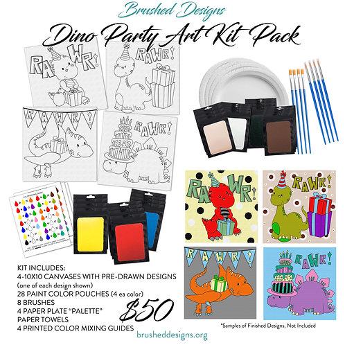 Dino Party Art Kit Pack