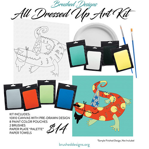All Dressed Up Art Kit