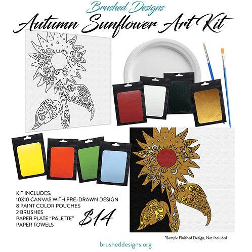 Autumn Sunflower Art Kit