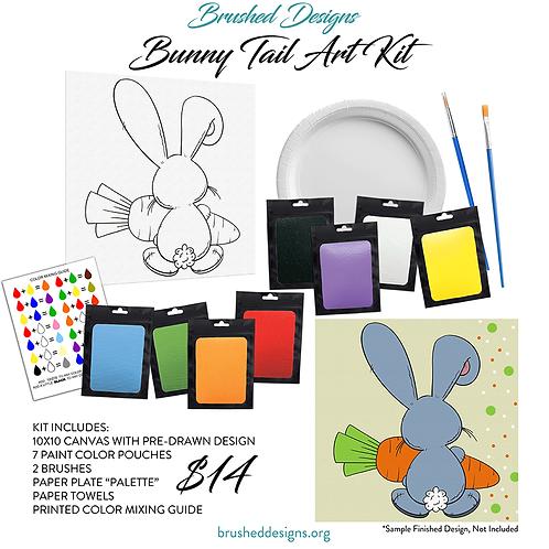Bunny Tail Art Kit