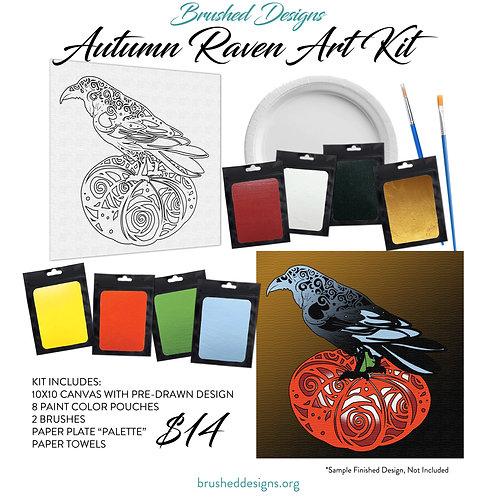 Autumn Raven Art Kit