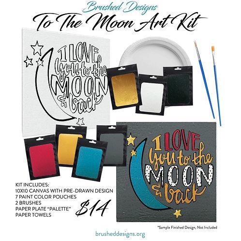 To The Moon Art Kit