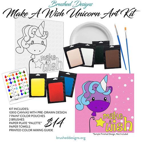 Make A Wish Unicorn Art Kit