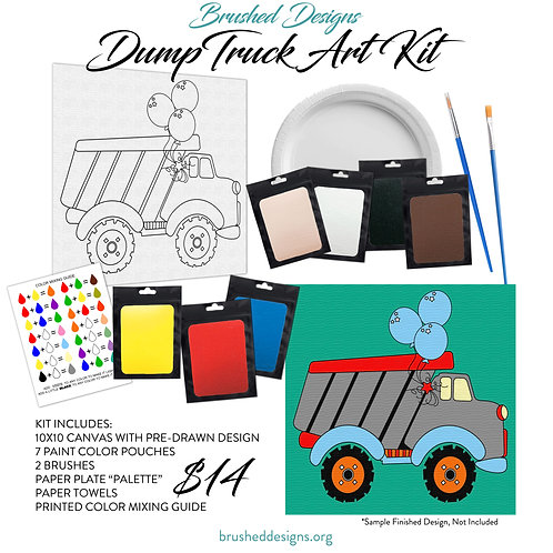Dump Truck Art Kit