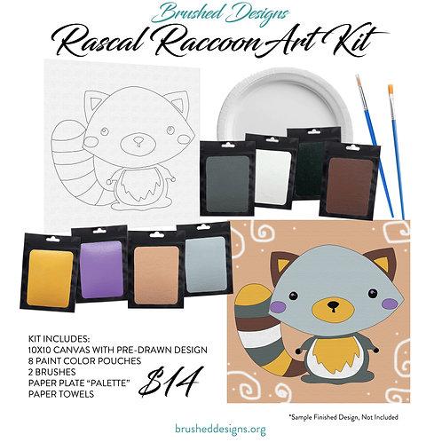 Rascal Raccoon Art Kit
