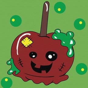 Candy Apple Cutie painted.jpg