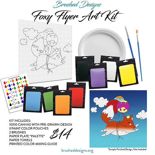 Foxy Flyer Art Kit