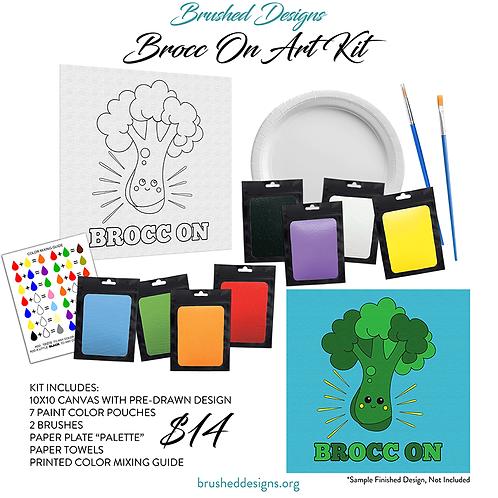 Brocc On Art Kit
