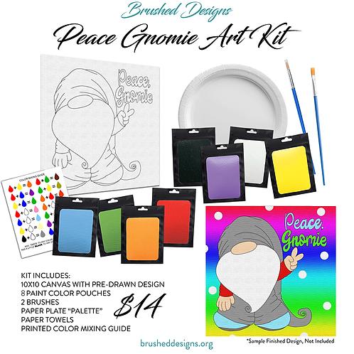 Peace Gnomie Art Kit
