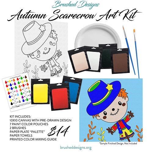 Autumn Scarecrow Art Kit