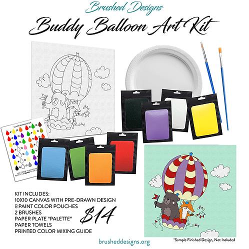 Buddy Balloon Art Kit