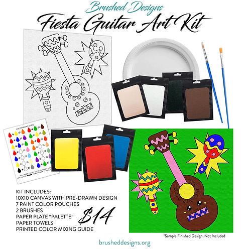 Fiesta Guitar Art Kit