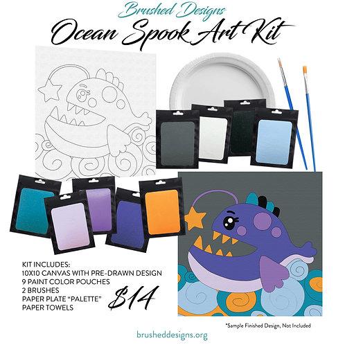 Ocean Spook Art Kit