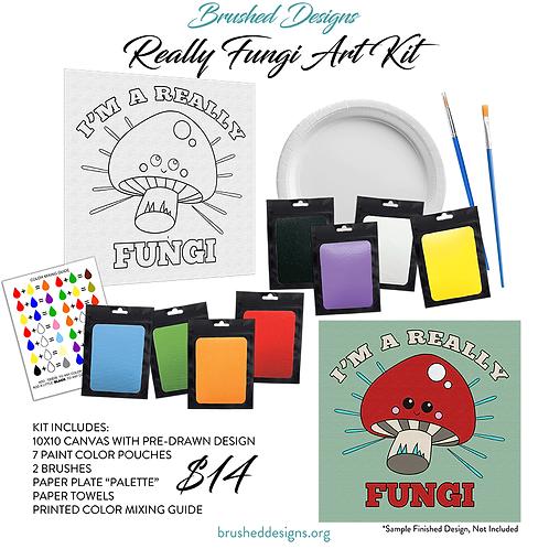 Really Fungi Art Kit