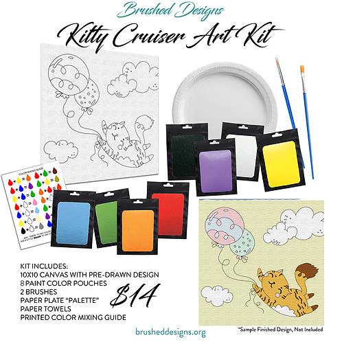 Kitty Cruiser Art Kit