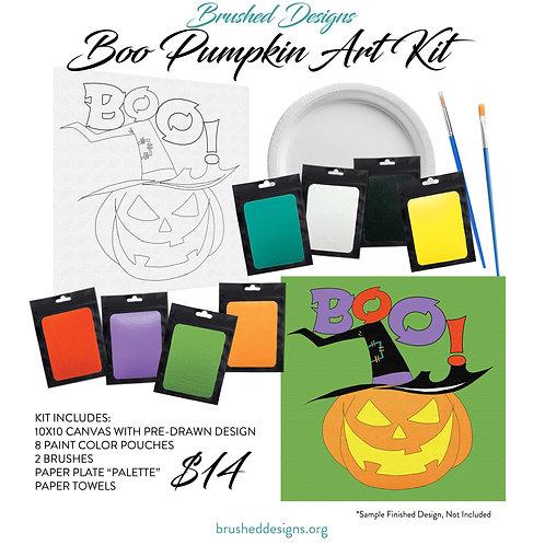 Boo Pumpkin Art Kit
