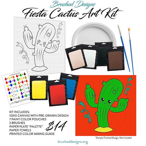 Fiesta Cactus Art Kit
