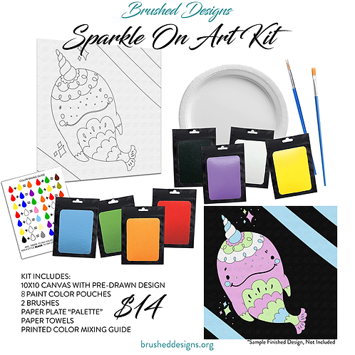 Sparkle On Art Kit