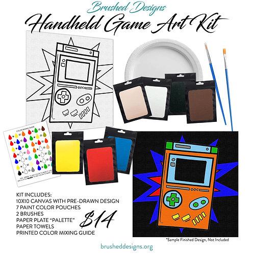 Handheld Game Art Kit