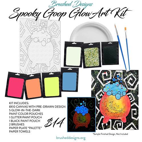 Spooky Goop Glow Art Kit