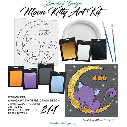 Moon Kitty Art Kit