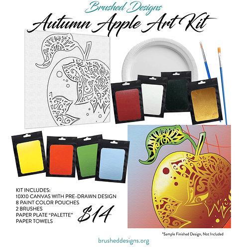 Autumn Apple Art Kit