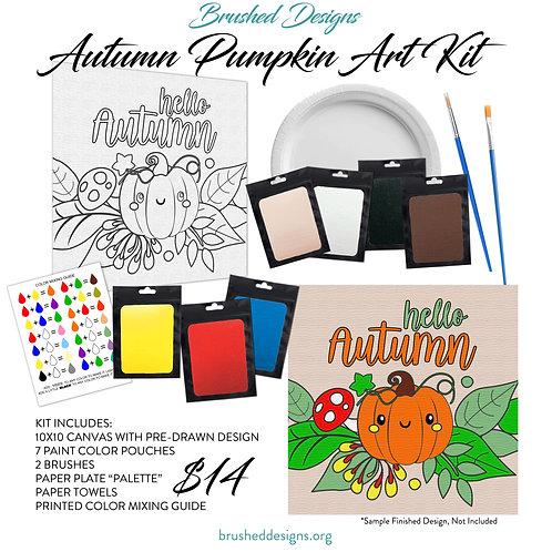 Autumn Pumpkin Art Kit