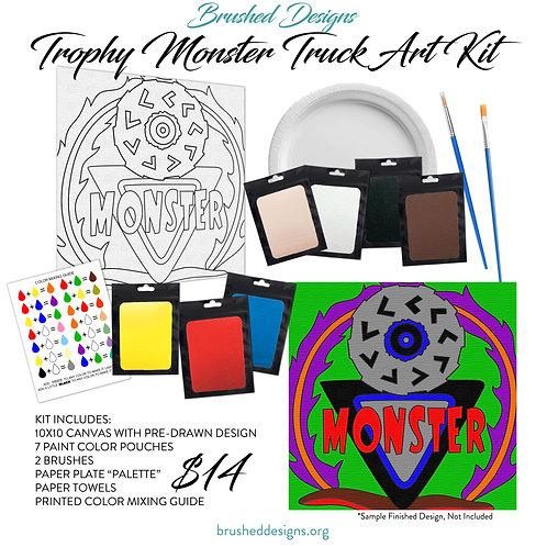 Trophy Monster Truck Art Kit
