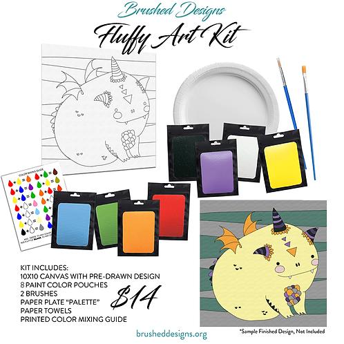Fluffy Art Kit