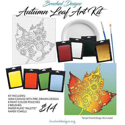Autumn Leaf Art Kit
