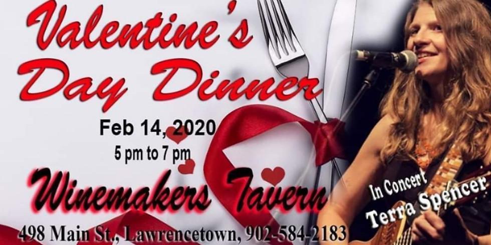 Valentine's Dinner with Terra Spencer