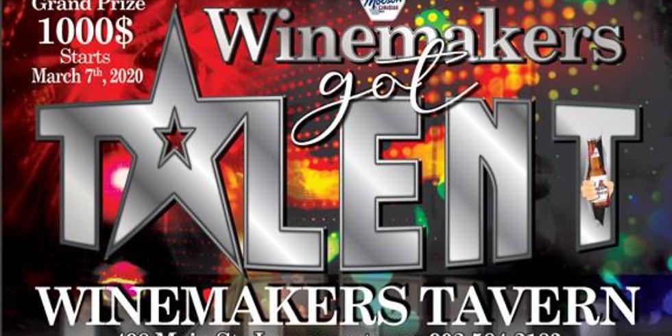 Winemaker's Got Talent.