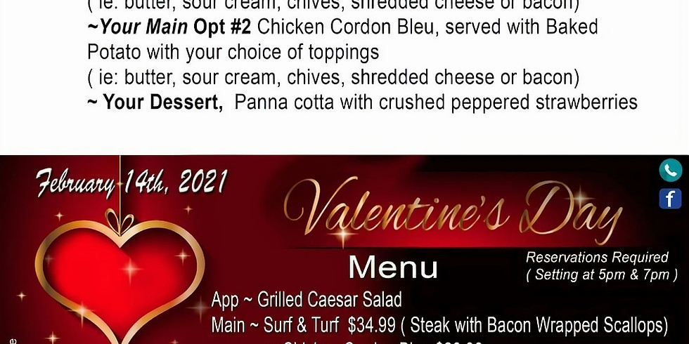 Valentine's supper with Terra Spencer
