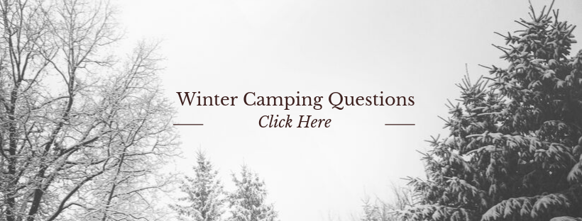 Winter Camping Questions