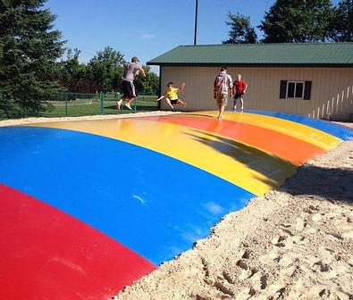 Jumping Pillow at Stoney Creek RV Resort