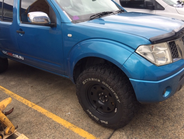 Nissan Navara with Dick Cepek Extreme Country tyres