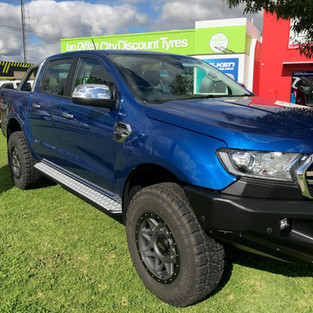 Ford Ranger with Dick Cepek Trail Country EXP tyres