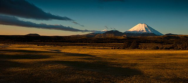 Central Plataeu and Tongariro