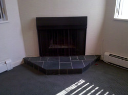 working fireplace