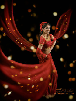Dance. India inspired image.