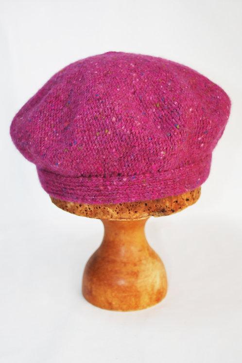 Irish donegal merino beret
