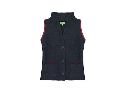 shawl collar waistcoat