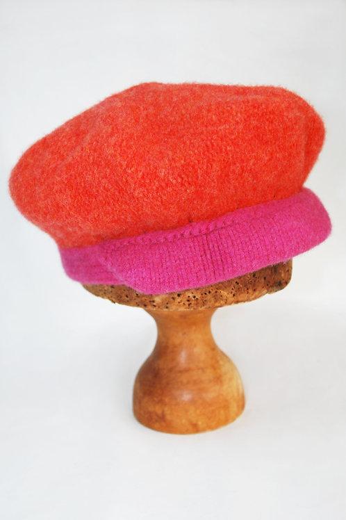 felted lambswool cap